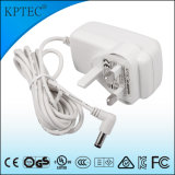 Plugue padrão do adaptador da C.A. com o produto pequeno 25W do aparelho electrodoméstico