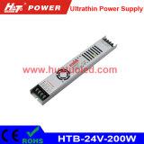 24V8A超薄いLEDの電源またはライトボックスまたは適用範囲が広いストリップ