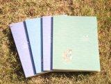 カスタム薄紙表紙の環境に優しい印刷されたノート