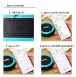 Altavoz impermeable sin hilos de Bluetooth de la más nueva mini música estérea portable al aire libre 2017