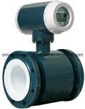 Medidor de fluxo eletromagnético da alta qualidade usado para a água e a água de esgoto com indicação digital e 4-20mA Output/485