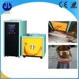 Máquina de aquecimento quente 80kw da indução do forjamento da porca de parafuso