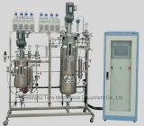 Bearbeitung des Biogärungsbehälters /Fermenter