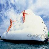 Iceberg gonfiabile dell'acqua, giochi gonfiabili dell'acqua, sport di acqua gonfiabili