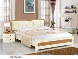 Cama de alta qualidade da série T, conjunto de móveis de quarto da Europa (T801)