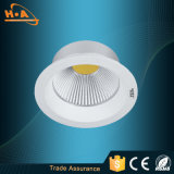 УДАР СИД Downlight алюминия 10W RoHS Ce Approved