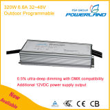 320W 6.6A 32-48V Outdoor Programmable Constant Current/Constant Voltage LED Driver