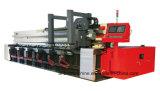 Máquina de sulco do CNC V da placa de metal da folha