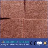 Akoestische Comité van de Vezel van de Polyester van de Decoratie van de Muur van het huis het Binnenlandse