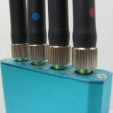 Beweglicher mini Handy-Signal-Hemmer der mittleren Energien-3G