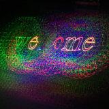 Лазерный луч одушевленност полного цвета диско DMX 500MW этапа партии