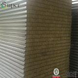 壁または屋根のためのRockwoolの耐火性のボード/岩綿サンドイッチパネル
