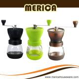 2016 amoladoras de café manuales del producto que tienden con las rebabas de cerámica