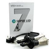 Pièces d'auto F7 H4 9003 Hb2 Phare de voiture LED H / L Beam 6000k 3200lm Kit de phare LED 25W Ampoule Xenon HID Lampe blanche