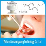Mitigador de dolor del polvo del Benzocaine de 200 acoplamientos CAS 94-09-7 de calidad superior