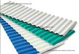 Folha plástica do telhado do PVC para o armazém/um edifício da folha da telhadura do PVC da camada