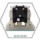 Pompa a diaframma dell'aria del rivestimento di PVDF