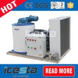 Máquina de gelo refrigerada a ar do floco de Icesta para Fresco-Manter-se