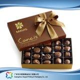Caixa de empacotamento do chocolate dos doces da jóia do presente do Valentim com fita (XC-fbc-019)