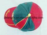 平野の100%年の綿の帽子の人の女性の調節可能な野球帽