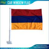 Bandeiras nacionais do indicador de carro do poliéster de Arménia (B-NF08F06070)