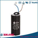 Capacitor não polar do capacitor eletrolítico CD60