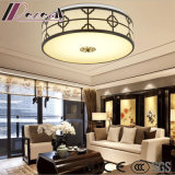 Lámpara simple redonda moderna del techo del estilo chino con la sala de estar