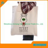 Sacchetto promozionale riutilizzabile su ordinazione del cotone