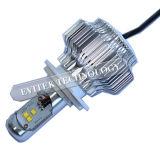 Farol 15W H4 do diodo emissor de luz do CREE da motocicleta