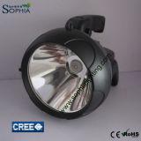10W lampe-torche puissante du CREE DEL, torche de DEL, lampe de main rechargeable