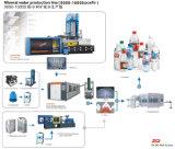 Máquina que moldea del soplo mineral de la botella de agua