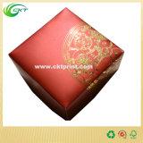 Faltender Papierkasten mit Cmyk Drucken (CKT-CB-374)