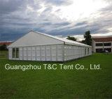 Grande barraca barata do famoso para a barraca usada do espaço livre do evento de 600 povos telhado ao ar livre
