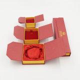 Rectángulo de reloj de empaquetado de sellado caliente de la visualización de la impresión de oro (J21-E)