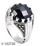De recentste Zilveren Ring van de Juwelen van de Manier van het Ontwerp voor de Mens