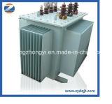 El transformador inmerso en aceite de 3 fases intensifica el transformador descender 100kVA