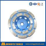 닦는 대리석 및 콘크리트를 위한 다이아몬드 컵 바퀴