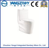 Toletta di un pezzo della stanza da bagno di gorgo eccedente di Siphonic (YZ1649)