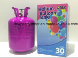 Hélio do balão com gás para inflar a exportação dos balões aos EUA