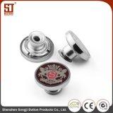 卸し売り製造業者の方法ジャケットのための円形の金属のMonocolorボタン