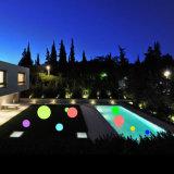 Veelkleurige Waterdichte LEIDENE de op batterijen van de Bol Verlichting van de Bal