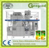 Máquina de rellenar del ladrillo aséptico del cartón del zumo de fruta
