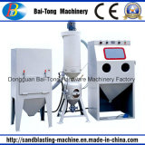 Governo manuale della macchina di sabbiatura di pressione per i pezzi fusi