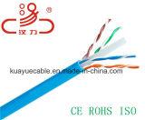 Câble de transmission de câble de caractéristiques de câble du chat 6 LSZH/Computer du câble LAN UTP