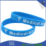 braccialetto su ordinazione del silicone dell'omaggio di promozione di stile di modo di 210*25*2mm