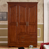 صنع وفقا لطلب الزّبون يد ينحت خزانة ثوب خشبيّة ([غسب17-006])