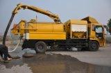 Camion-citerne aspirateur de vide d'aspiration d'Ietting d'eaux d'égout de la Chine à vendre