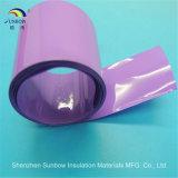 Câmara de ar colorida do Shrink do calor do PVC para a embalagem de 18650 baterias