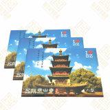 Imán del refrigerador del estaño para el templo de Hanshan en Hangzhou