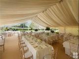 20X30m Exterior gigante de alumínio PVC Eventos Festa Casamento Tenda Família Tunne Tendas